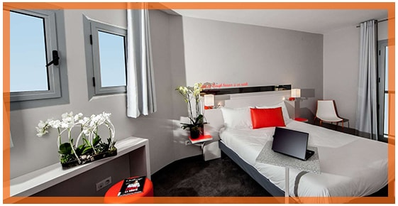 Family Suites at the hotel ibis Styles Juan les Pins